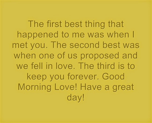 35+ Good Morning Love Quotes for Him or Her