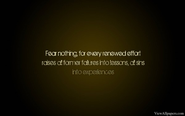 Fear Nothing Quote