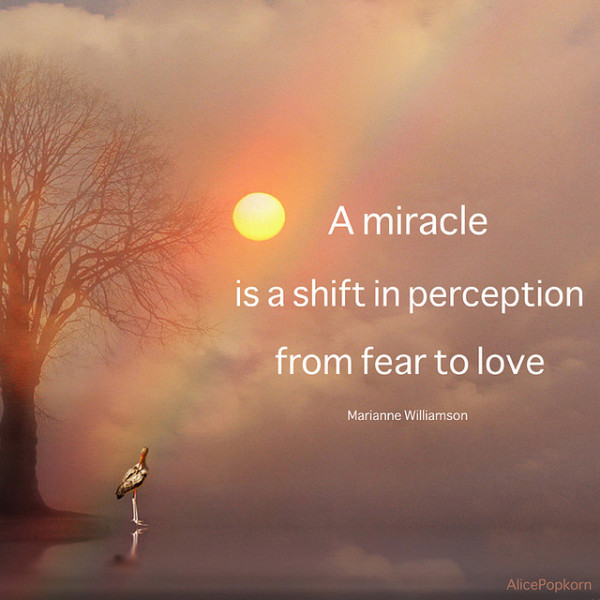 Marianne Williamson Fear And Love Quotes