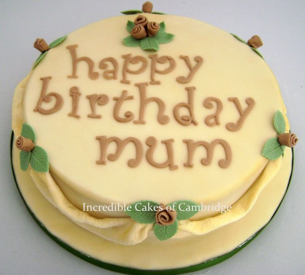 Picture Of Birthday Cake For Mum