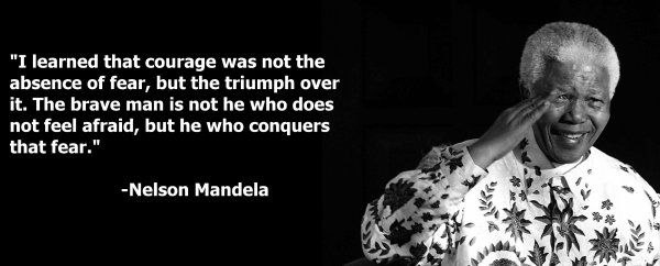 mandela fear quote