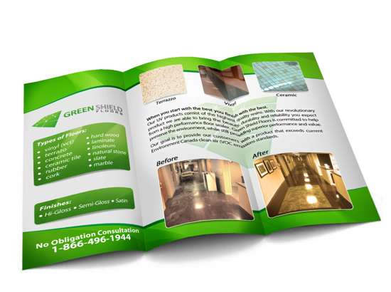 Green Brochure Designs