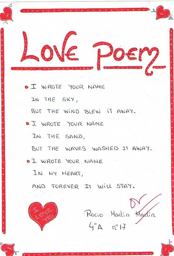 Cute Love Poem