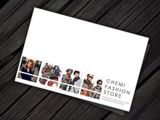 fashion brochure design examples