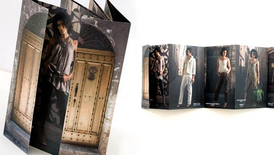 Example Of Fashion Brochure Design