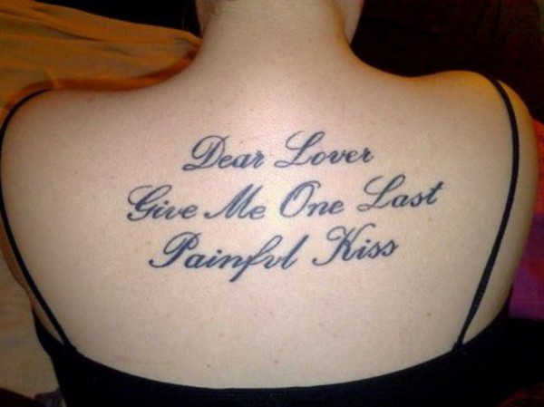 good love tattoo quotes for girls