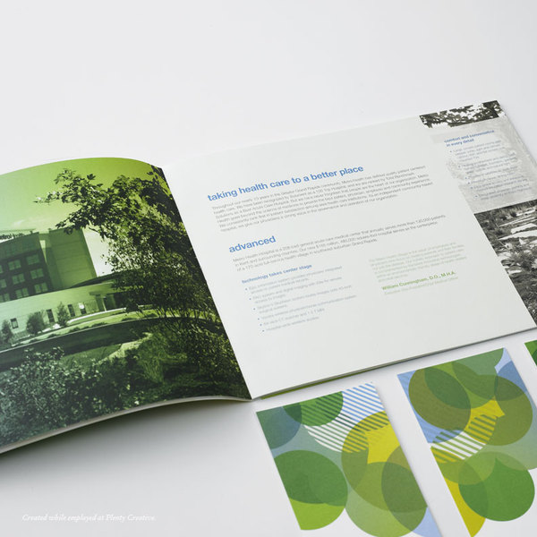 Examples Of Brochure Designs For Hospitals