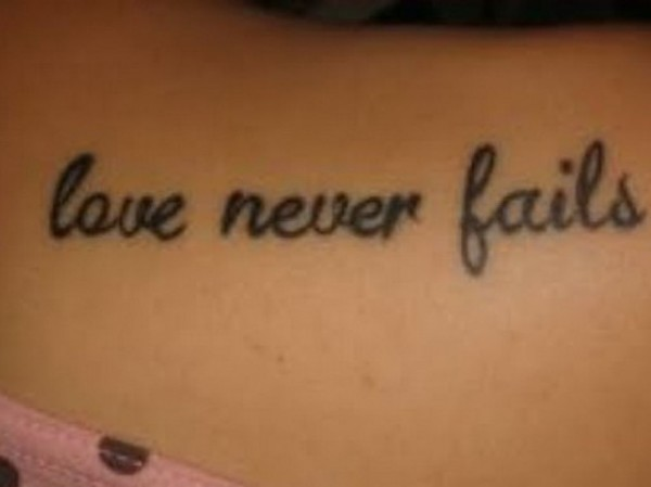 love quotes tattoos for girls