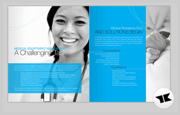 Beautiful Example Of Brochure Design