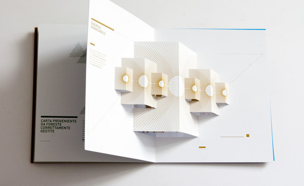 30 unique and beautiful examples of brochure design for Interactive brochure design