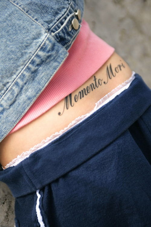 short quotes tattoo for girls