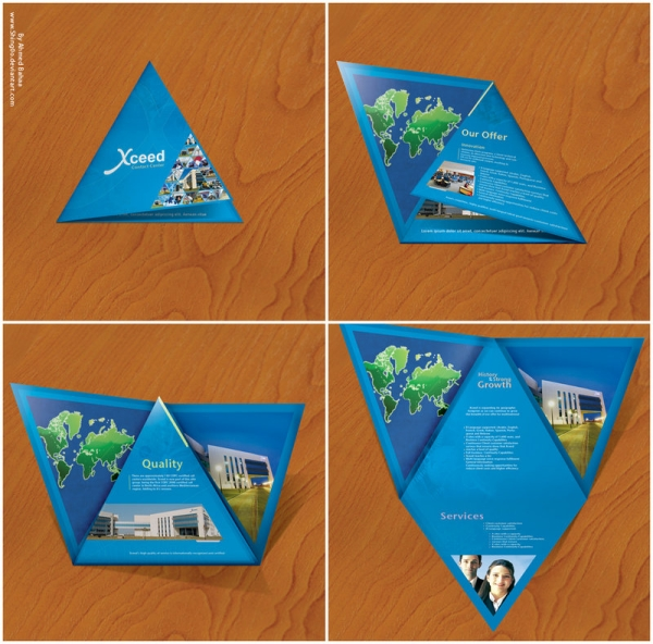 xceed brochure design