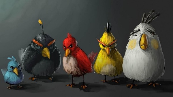 Angry Birds Art Pictures HD Wallpaper