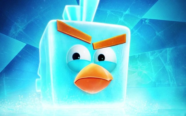 Freezed Angry Birds Wallpaper