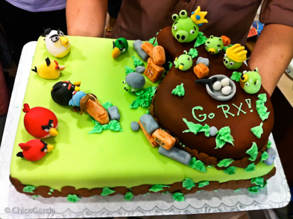 Angry Birds Cake Picture
