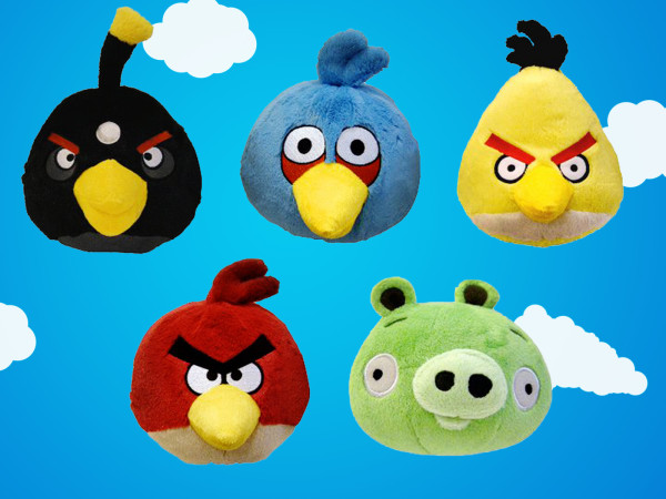 Angry Birds Macotes HD Wallpaper