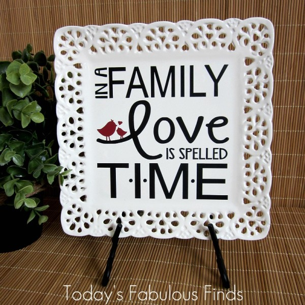 Family Love Time Quote