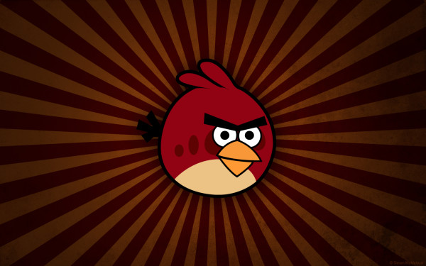 Red Angry Birds Wallpaper