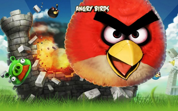 Angry Birds iPhone Game Picture