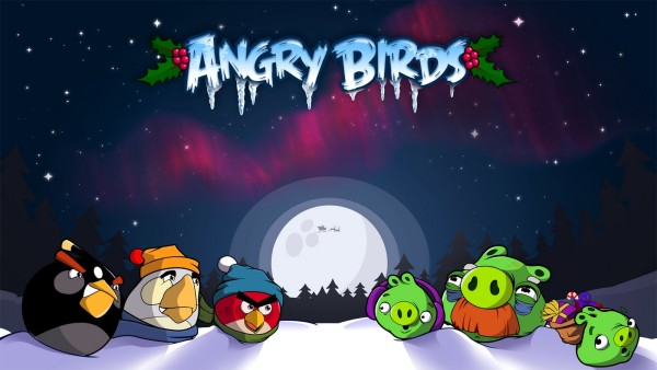 Aangry Birds Full HD Wallpapers