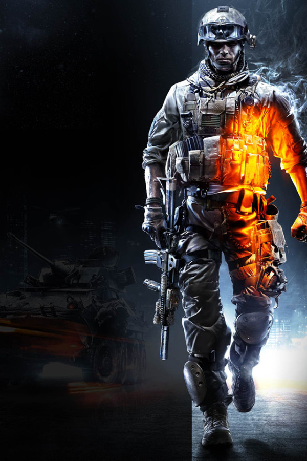 Battlefield 3 iPhone Wallpaper