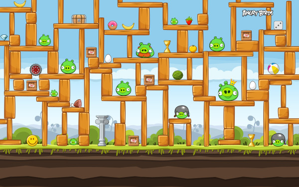 Construction Picture Of Angry Birds