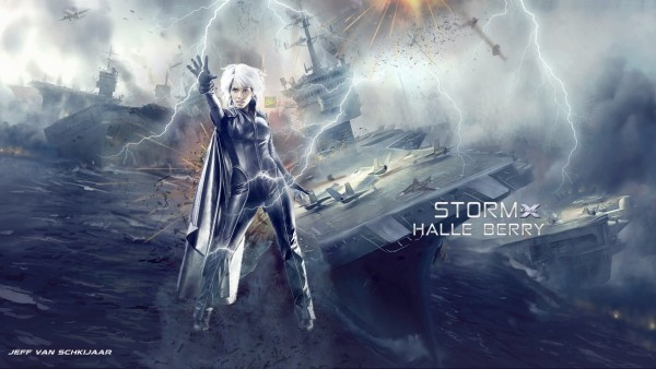 halle berry storm x men wallpaper