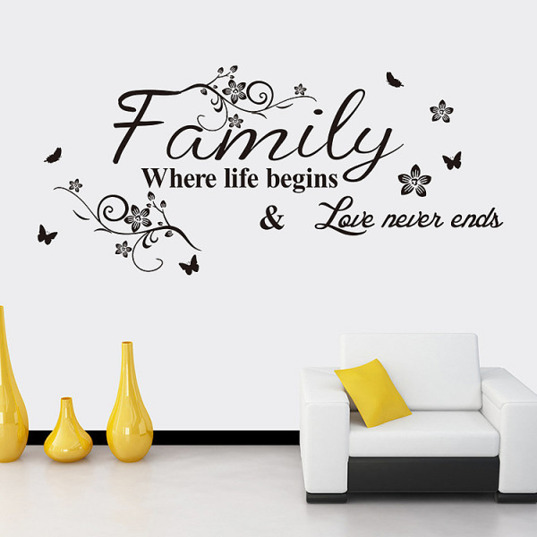 Wall Decal Quotes About Family