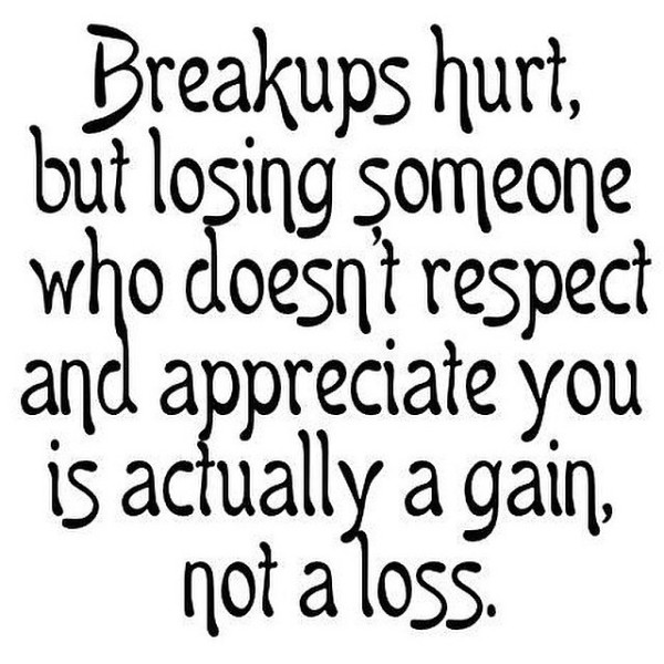Quotes on break up