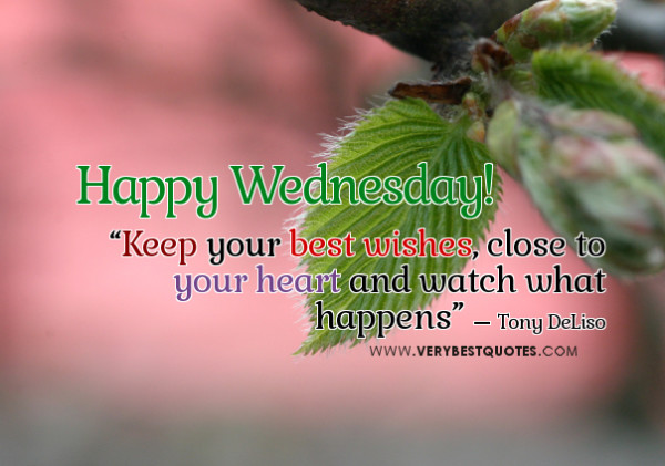 Happy-Wednesday Best Wishes Quotes