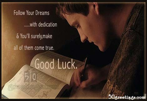 Best Wishes And Good Luck For Exams Quotes