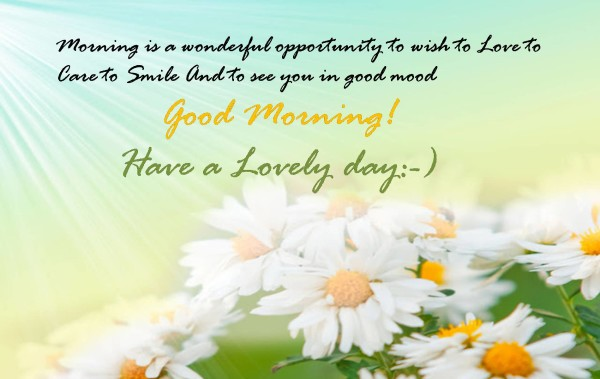Good Morning Quotes Best Wishes