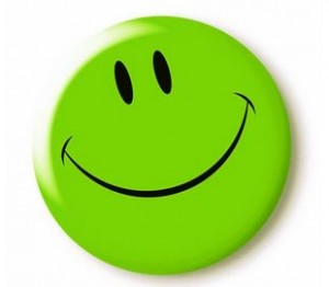 greenish fb smiley