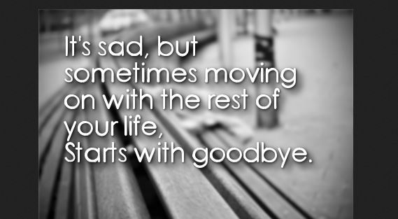life goodbye quotes
