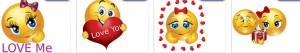 love emoticons skype