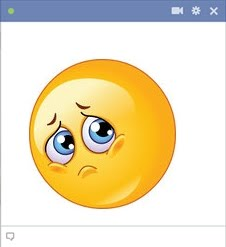 sad fb smiley