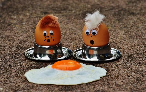 Funny Egg Fry