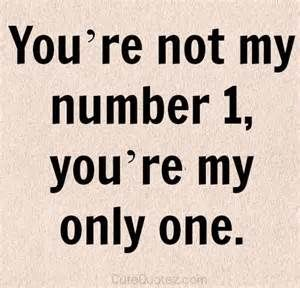 you are not my number one