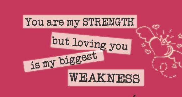 you're my strength