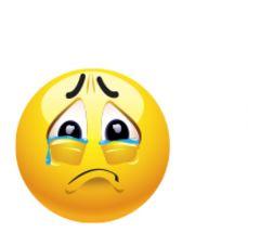 crying emoticon 2