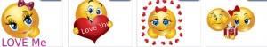 love emoticons skype