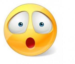 surprised emoticons