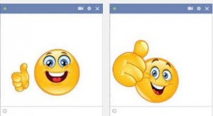 thumbs up emoticon